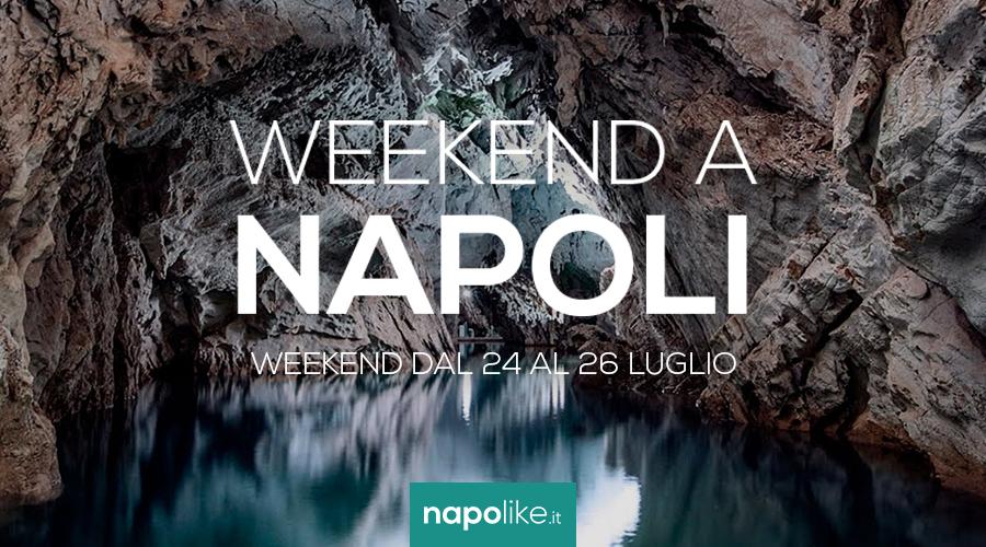 Eventi a Napoli nel weekend dal 24 al 26 luglio 2020