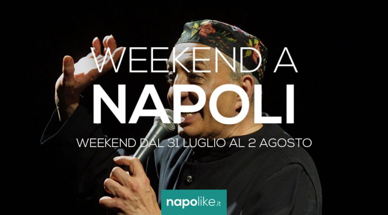 Events in Naples during the weekend from 31 July to 2 August 2020