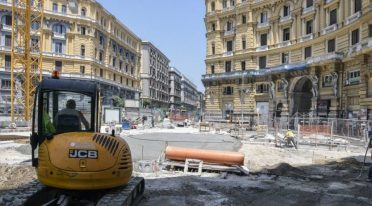 You work in Piazza Nicola Amore in Naples