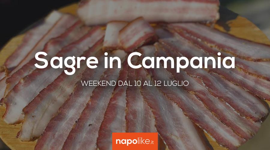 Festivals in Kampanien am Wochenende von 10 bis 12 Juli 2020