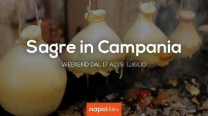 Sagre in Campania nel weekend dal 17 al 19 luglio 2020