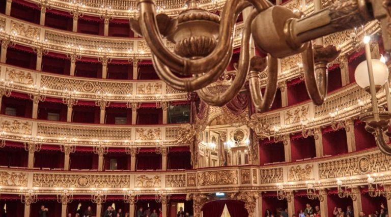 San Carlo Theater in Naples