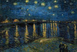 Звездная ночь над Роной Ван Гога
