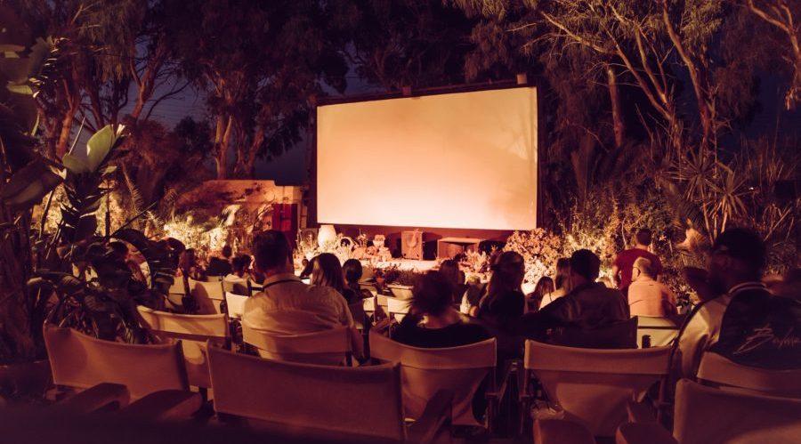 Kino im Freien