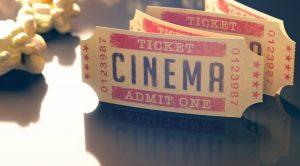 Biglietti del cinema