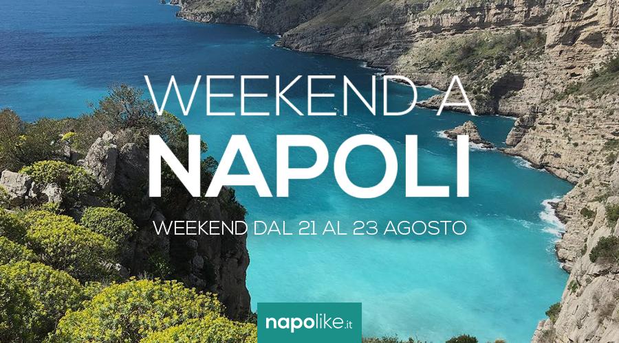 Eventi a Napoli nel weekend dal 21 al 23 agosto 2020