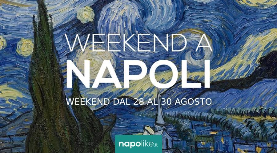 Eventi a Napoli nel weekend dal 28 al 30 agosto 2020