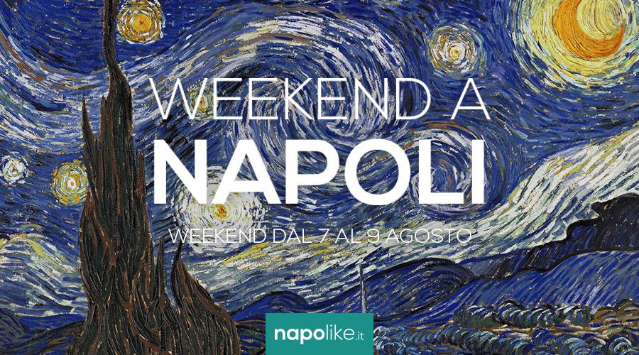 周末在那不勒斯从7到9 August 2020的活动