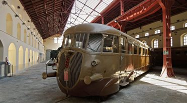 Treno nel Museo di Pietrarsa