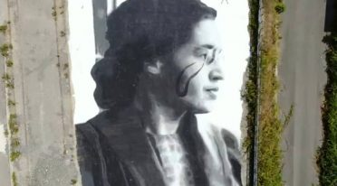 Murales Rosa Parks di Jorit