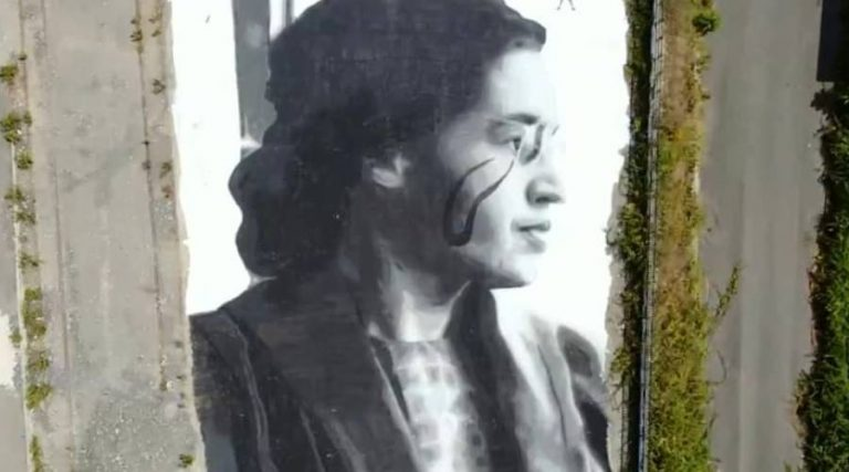 Murales Rosa Parks par Jorit