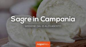 Sagre in Campania nel weekend dal 21 al 23 agosto 2020