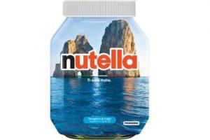 Nutella con i Faraglio di Capri