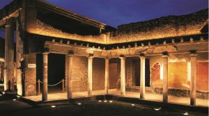 poster of Night walks in Pompeii and other archaeological sites