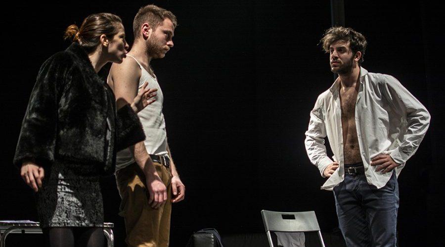 Senza Sangue, espectáculo en el Nuovo Teatro Sanità