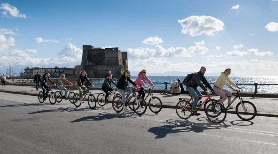 Balade à vélo à Naples