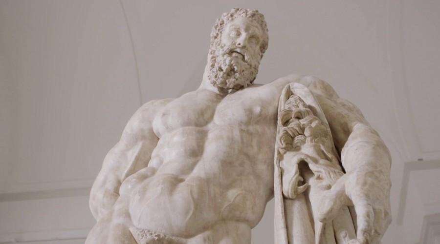 Ercole Farnese im Mann in Neapel