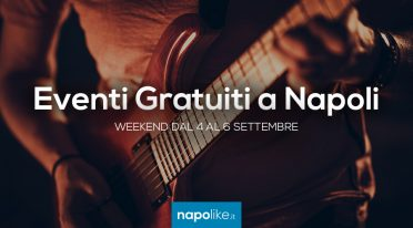 Kostenlose Events in Neapel am Wochenende von 4 bis 6 September 2020