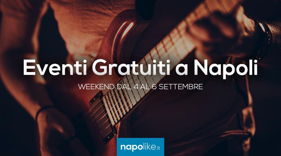 Eventi gratuiti a Napoli nel weekend dal 4 al 6 settembre 2020