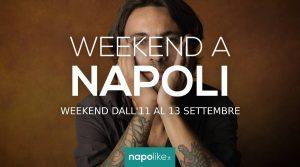 周末在那不勒斯的活动从11到13在9月2020