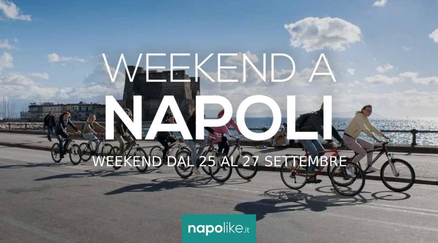 الأحداث في نابولي خلال عطلة نهاية الأسبوع من 25 إلى 27 في سبتمبر 2020