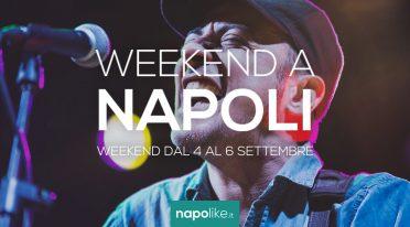 Eventi a Napoli nel weekend dal 4 al 6 settembre 2020