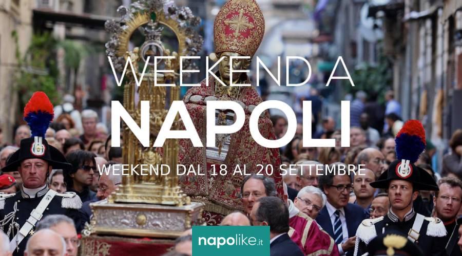 Eventi a Napoli nel weekend dal 18 al 20 settembre 2020