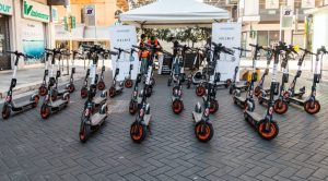 Helbiz electric scooters