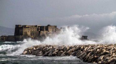 Pioggia a Napoli