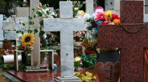 Cimitero di Poggioreale a Napoli