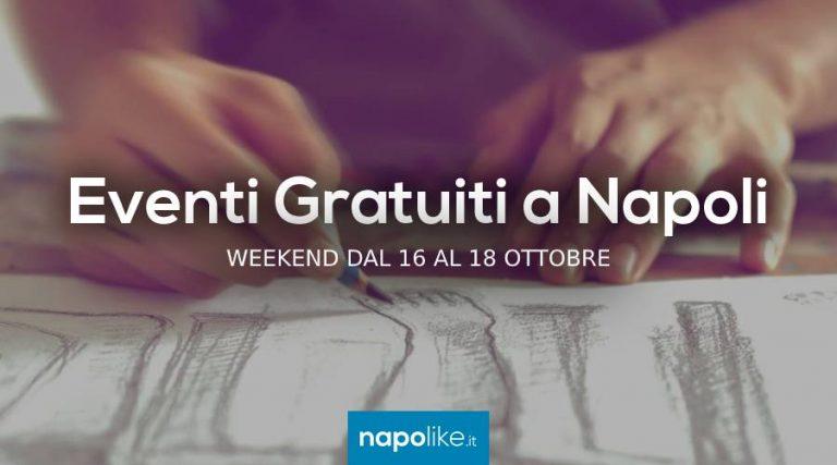 16から18への週末のナポリでの無料イベント10月2020