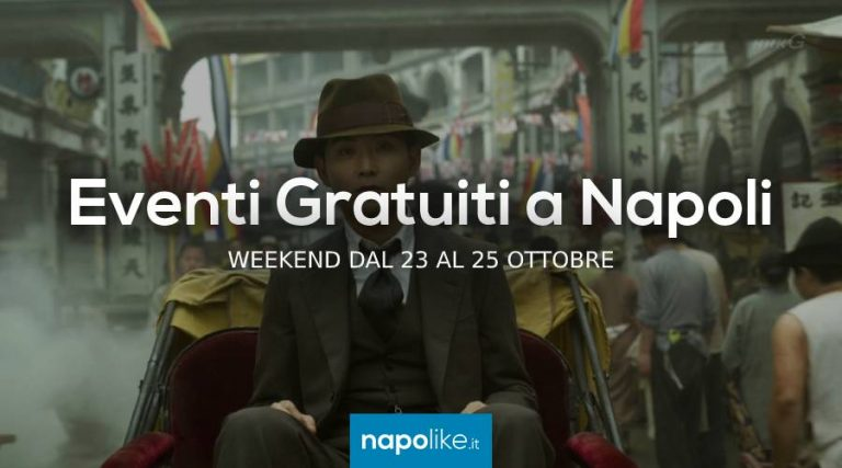 Free events in Naples during the weekend from 23 to 25 October 2020