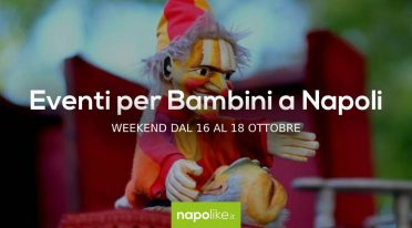 Events for children in Naples during the weekend from 16 to 18 October 2020