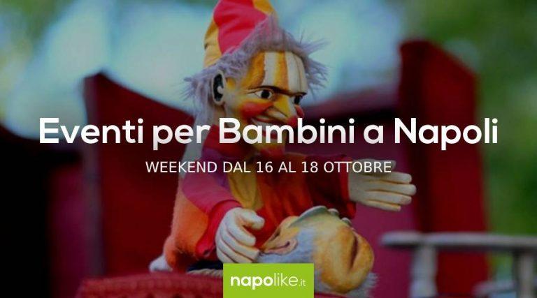 16から18への週末のナポリの子供たちのイベントOctober 2020