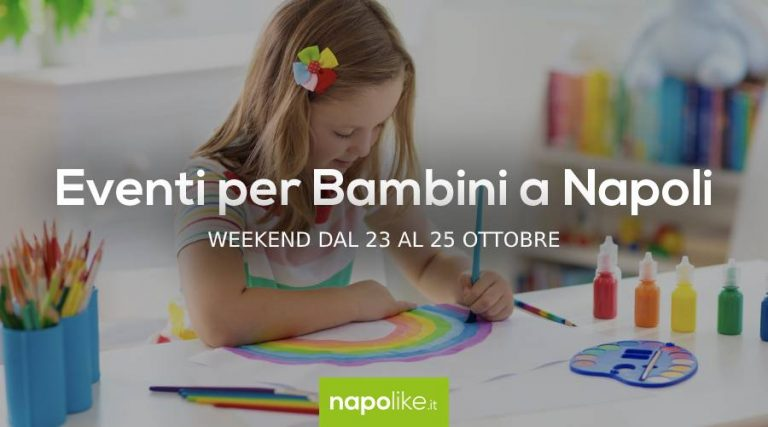 Events for children in Naples during the weekend from 23 to 25 October 2020