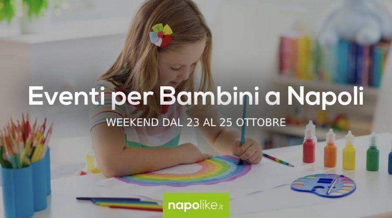 Événements pour les enfants à Naples pendant le week-end de 23 à 25 Octobre 2020