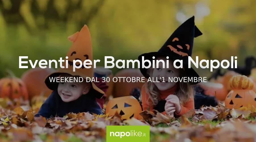 أحداث للأطفال في عيد الهالوين في نابولي خلال عطلة نهاية الأسبوع من 30 أكتوبر إلى 1 نوفمبر 2020