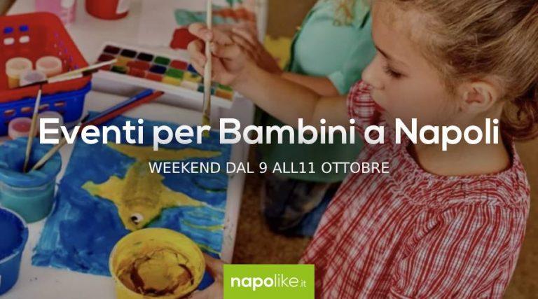9から11への週末のナポリの子供たちのイベントOctober 2020