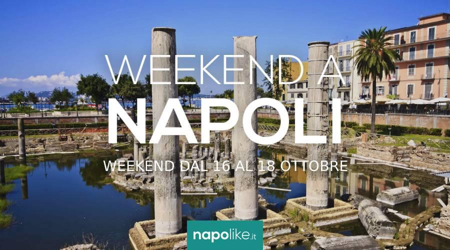 Eventi a Napoli nel weekend dal 16 al 18 ottobre 2020