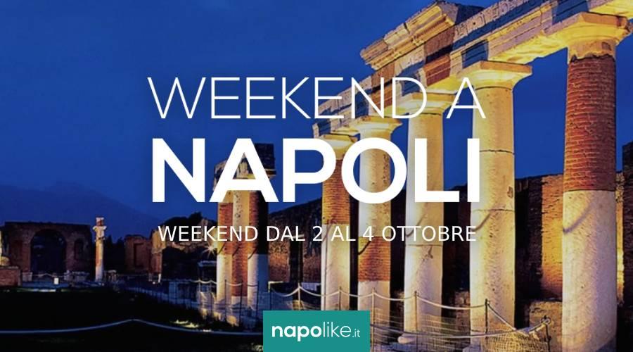 Veranstaltungen in Neapel am Wochenende von 2 zu 4 Oktober 2020