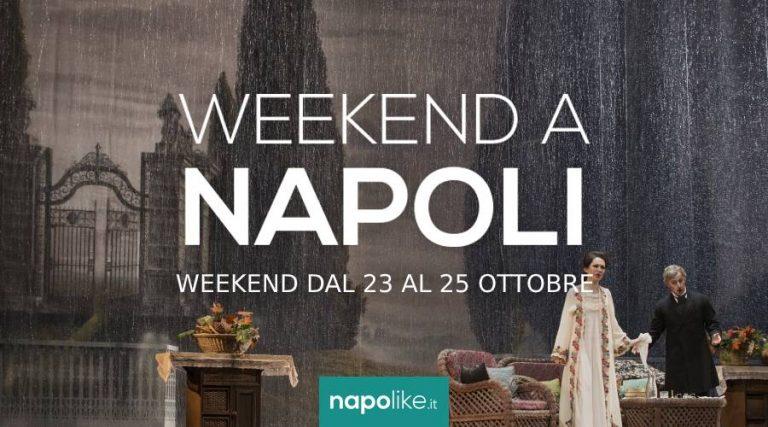 Événements à Naples pendant le week-end de 23 à 25 Octobre 2020