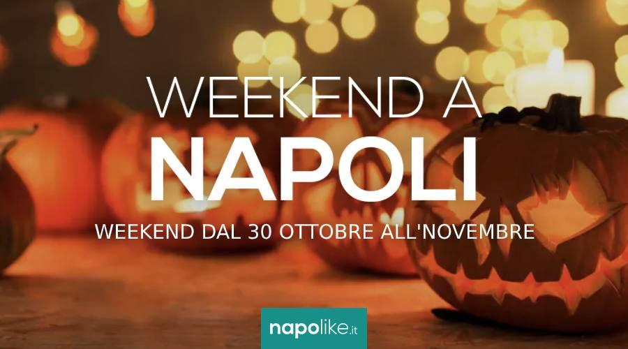 События в Неаполе во время выходных на Хэллоуин с 30 октября по 1 ноября 2020 г.