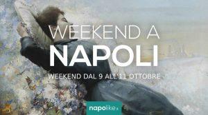 Eventi a Napoli nel weekend dal 9 all'11 ottobre 2020