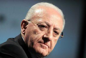 Le président Vincenzo De Luca