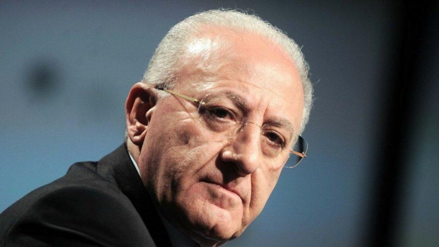 Der Präsident Vincenzo De Luca