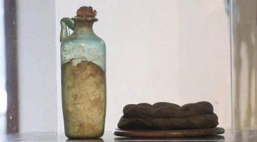 Bottiglia d'olio più antica al mondo al MANN