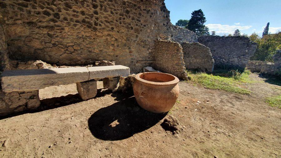 المدابغ القديمة في الحفريات في بومبي