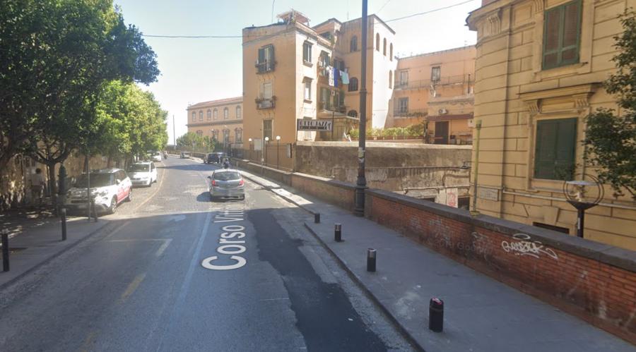 كورسو فيتوريو إيمانويل في نابولي