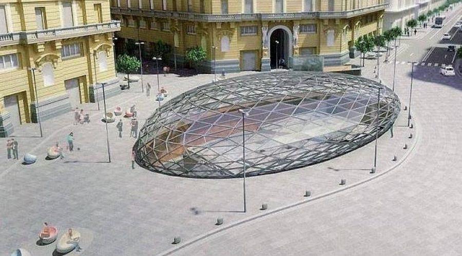 Station de métro Duomo de Naples