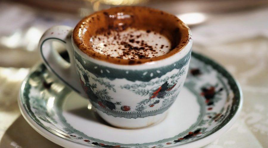 Tasse Gambrinus-Kaffee